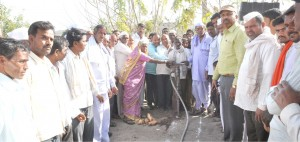 Inauguration of road
